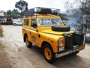 land rover serie camel trophy zaire 1983
